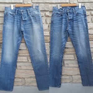 2 Pairs Abercrombie Fitch Distressed Jeans